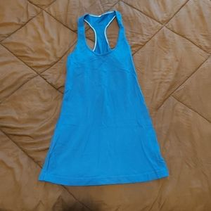 Lululemon Blue Muscle Tank